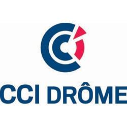 Logo de la CCI Drôme