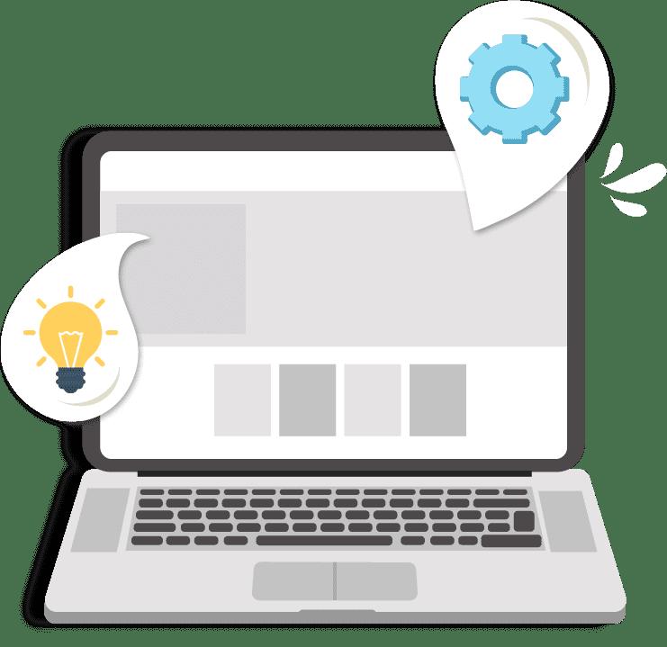 Gestion, analyse et stratégie pour votre site Web